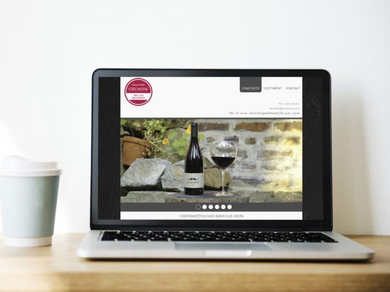 Website Feinkostladen
