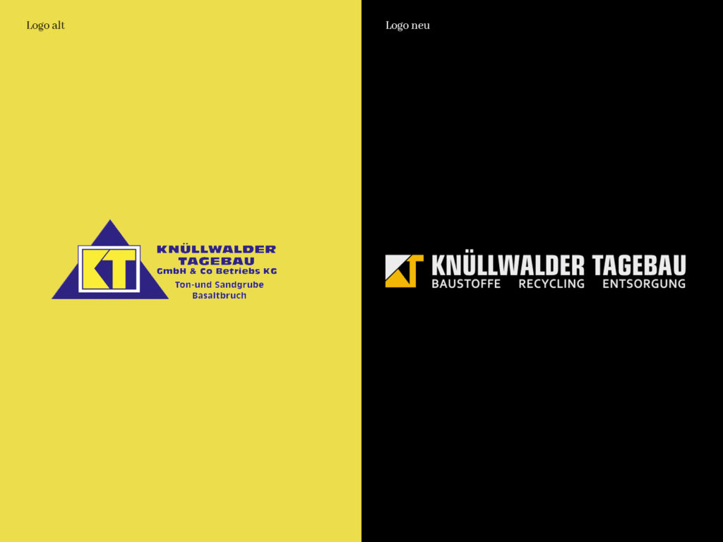 Neues Logo: Knüllwalder Tagebau