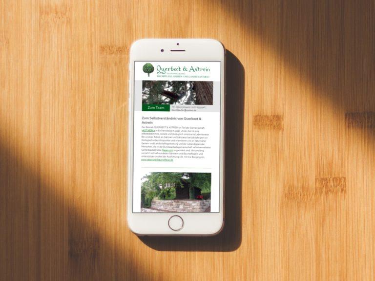 Website Landschaftsbau